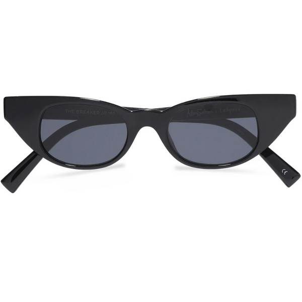 Adam Selman x Le Specs The Breaker Cat-eye Acetate Sunglasses