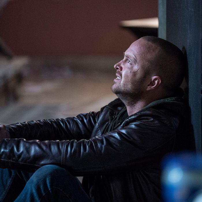 Aaron Paul as Jesse Pinkman in El Camino: A Breaking Bad Movie.