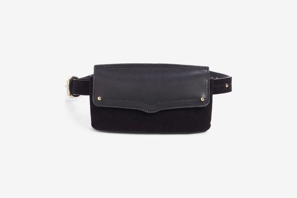 Rebecca Minkoff Maya Leather & Suede Belt Bag