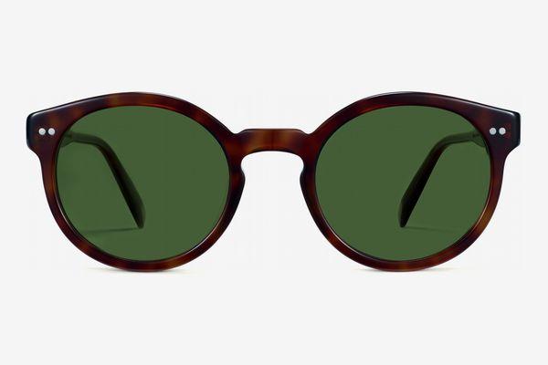 Warby Parker Men's Edgemont Sunglasses, Peppercorn Tortoise