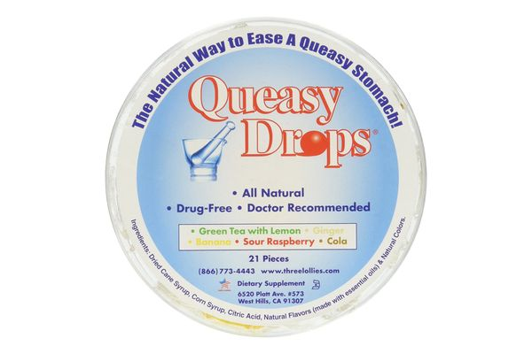 Queasy Drops for Assorted Nausea, 21-Count