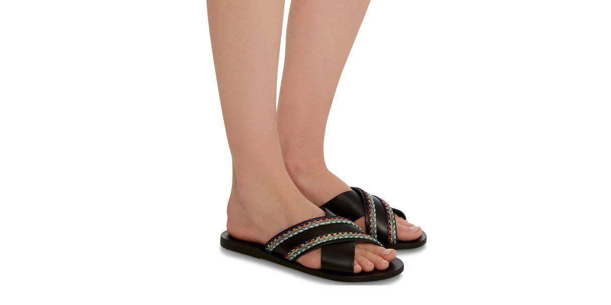 Ancient Greek Rafia Sandals