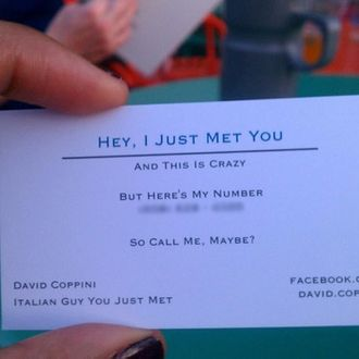 Call me maybe dating new dating website for ugly people