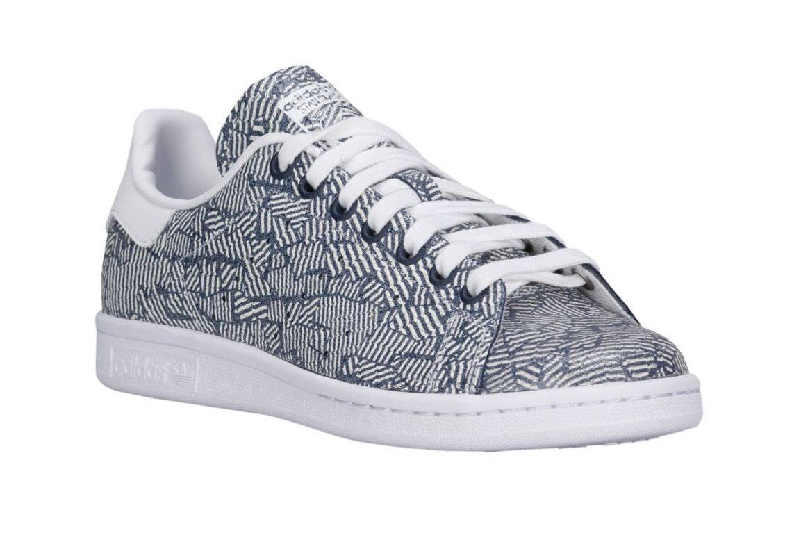 Navy/White Pattern. An artsy navy and white. Adidas Originals Stan Smiths