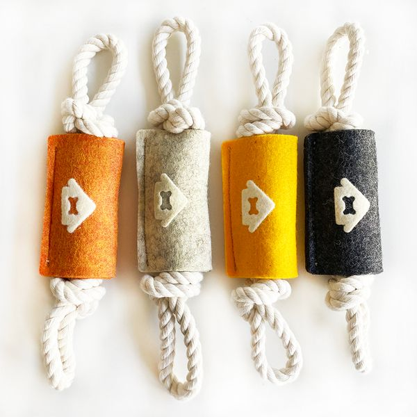 House Dogge Wool Knot-Knot Rope Toy 2.0