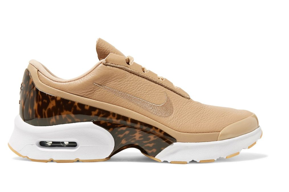 Nike Air Max Jewell LX Leather and Tortoiseshell Sneakers