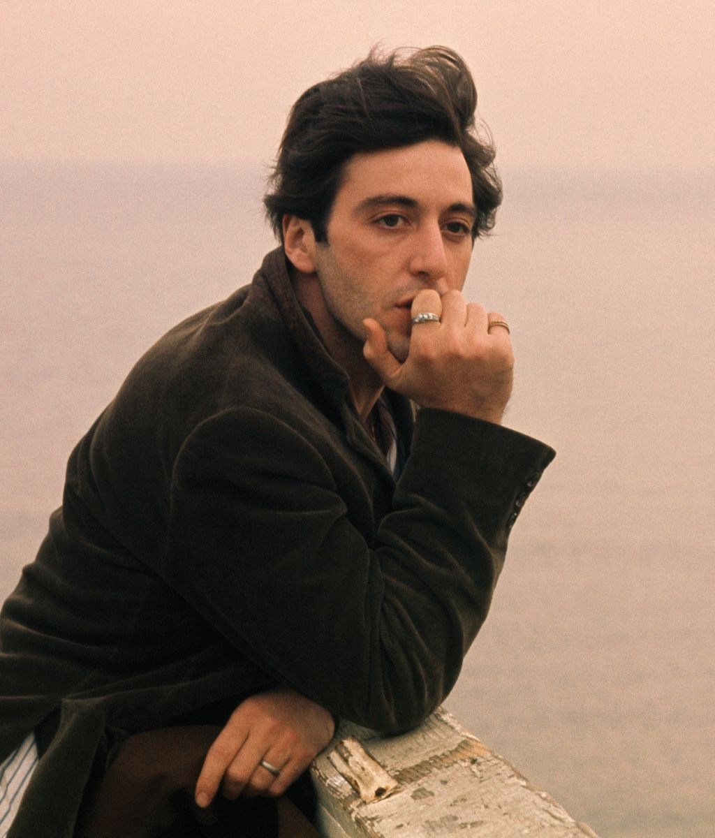 Al Pacino The Godfather Hair