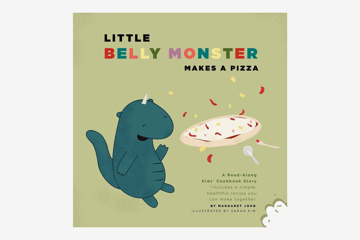 Little Belly Monster Makes a Pizza