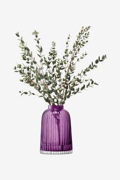 LSA International PT04 Pleat Vase Heather