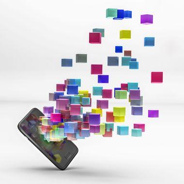 Mobile Phone squares