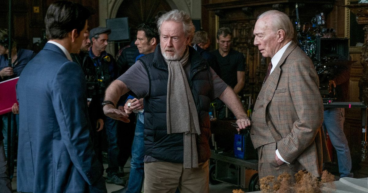 Ridley Scott's Very Candid Account of How He Saved All the Money in the World