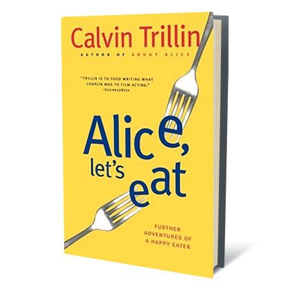 calvin trillin food essays I meet calvin trillin for a 9 am interview at a chinese teahouse in uptown, and the first words out of his mouth are: what do you say we skip breakfast and go straight to lunch food those noodle dishes look good this is the kind of man a foodie could love, the kind of down-to-business eater.