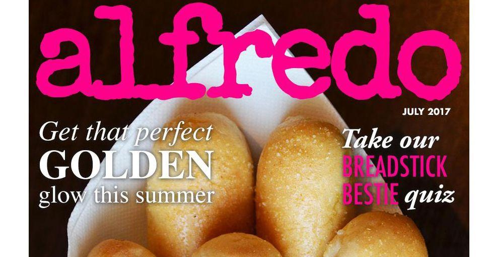 Menu For Olive Garden: Olive Garden Tweets About Jokey 'Alfredo' Magazine
