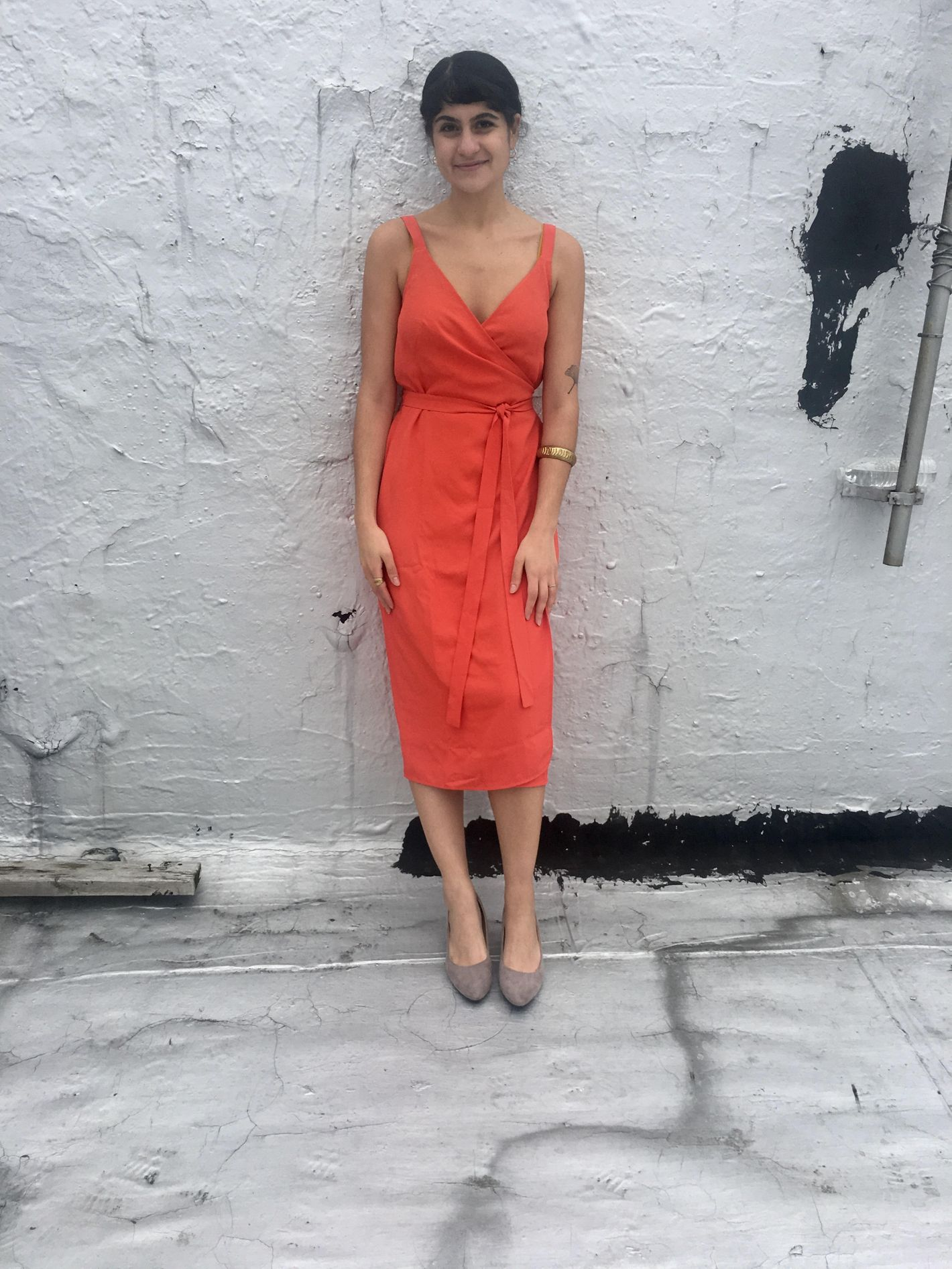 dace2c0d89e What Everlane s New Wrap Dress Looks Like on 6 Women