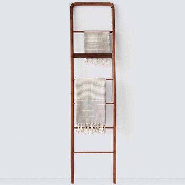 The Citizenry Kambas Decorative Teak Ladder