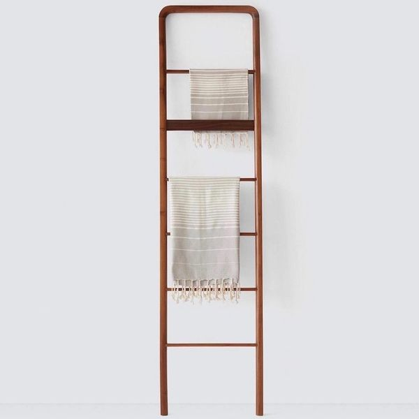 The Citizenry Kambas Decorative Teak Ladder