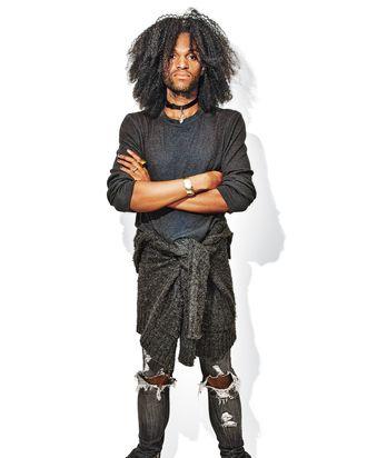 Manhattan-based musician Sterling Infinity.