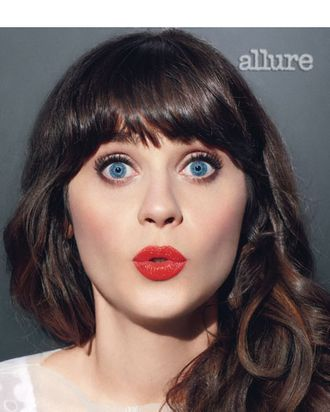 Zooey Deschanel for <em>Allure</em>