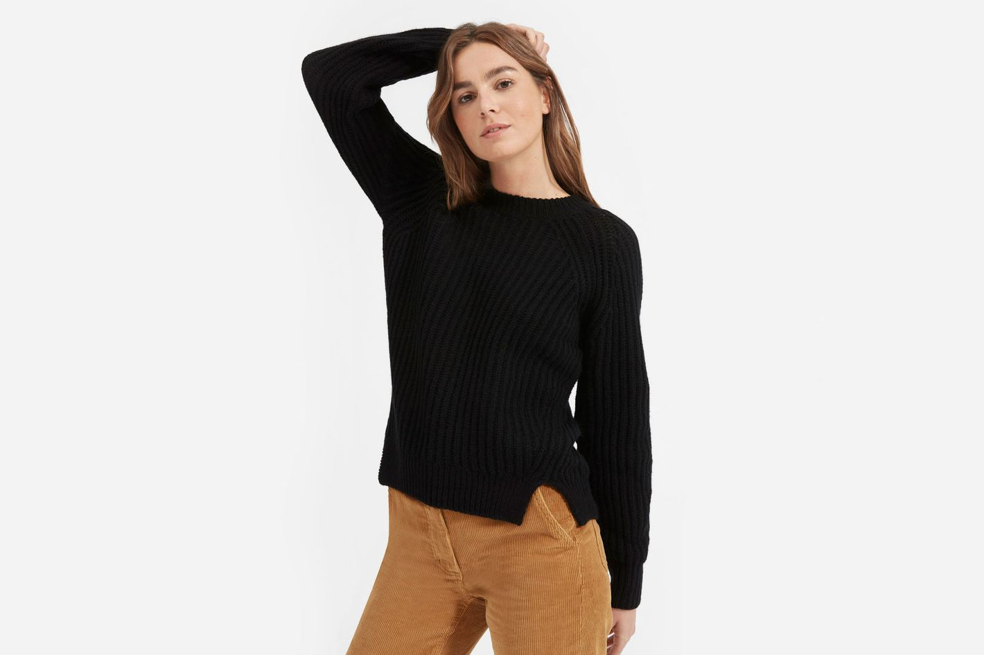 Everlane Italian Soft Wool Rib Crew
