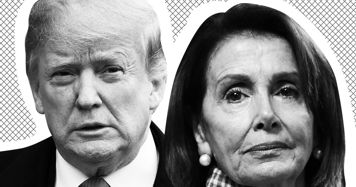 Imagined Letters Between Trump and Pelosi