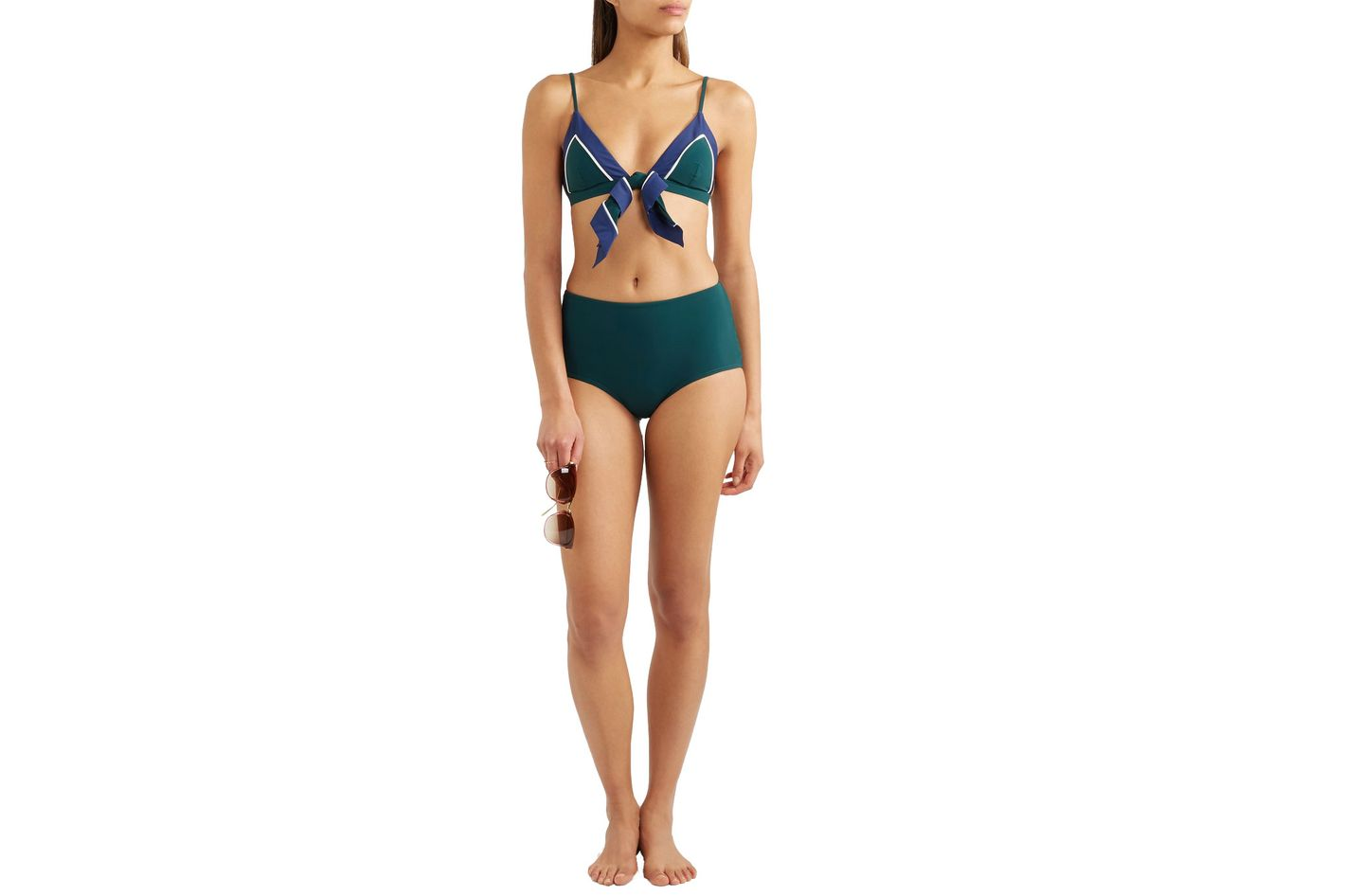 d5b57f8d289aa 21 Cute High-Waisted Bikinis to Wear This Summer