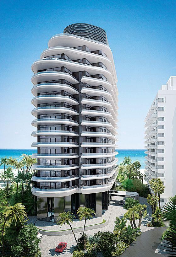 Faena House Miami High Rise Building