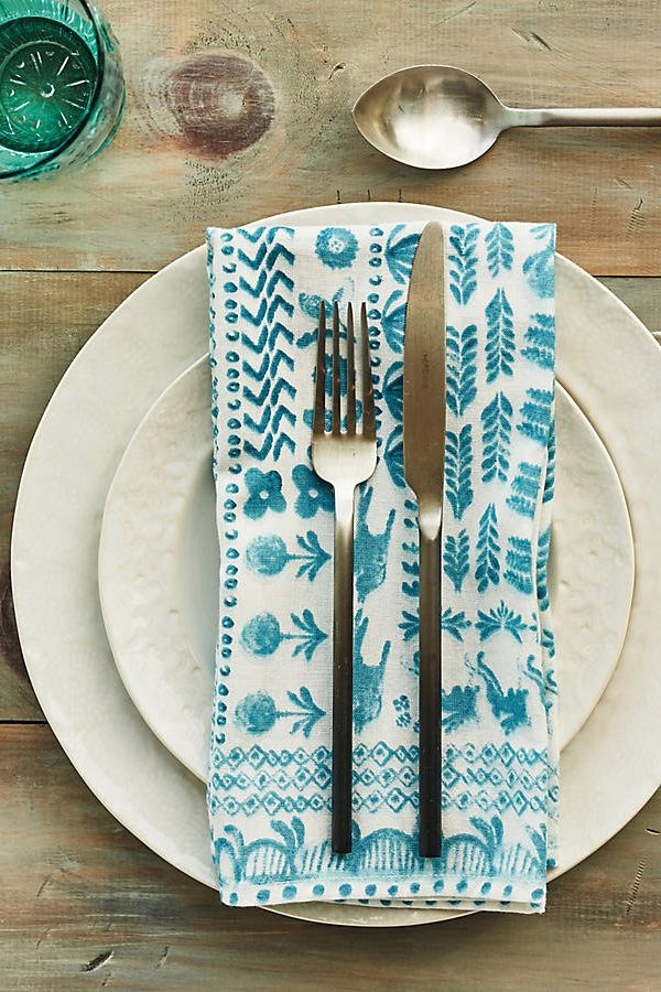 Anthropologie Spindle Flatware