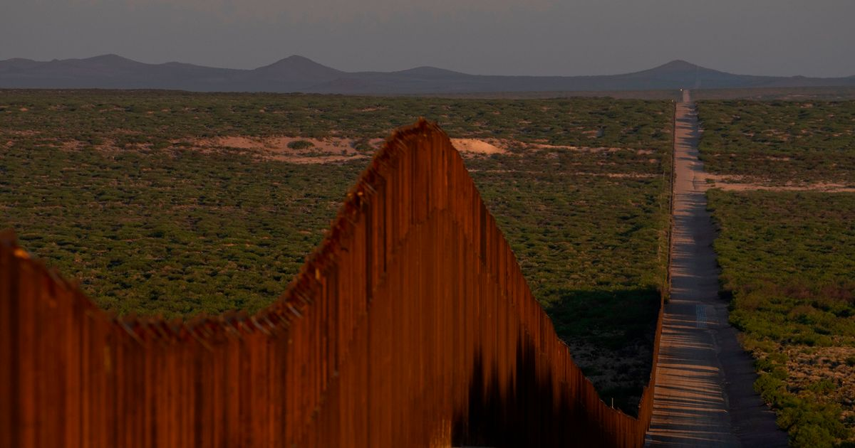 Military to Spend a Month Painting a Mile of the Border Wall Because It Isn't Pretty Enough