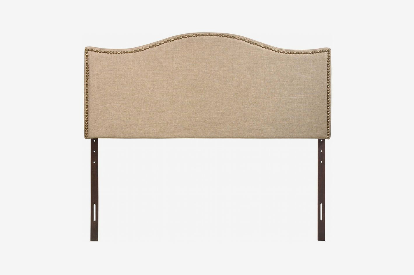 Modway Curl Upholstered Linen Headboard Size With Nailhead Trim