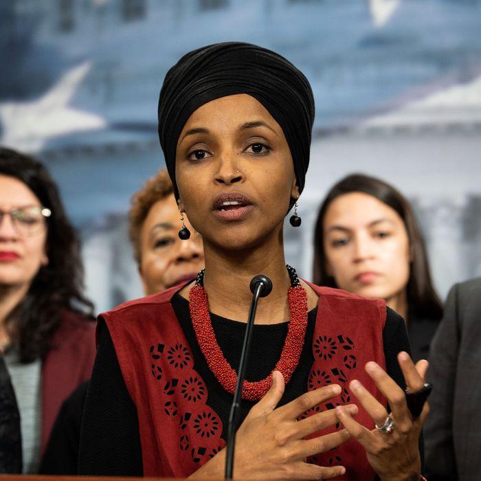 U.S. Representative Ilhan Omar.