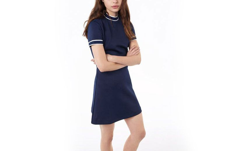 Gant Rugger Striped Collar Dress