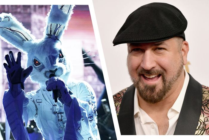 The Rabbit is … Joey Fatone?