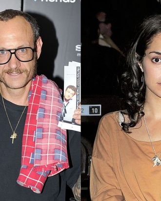 Terry Richardson and Audrey Gelman.