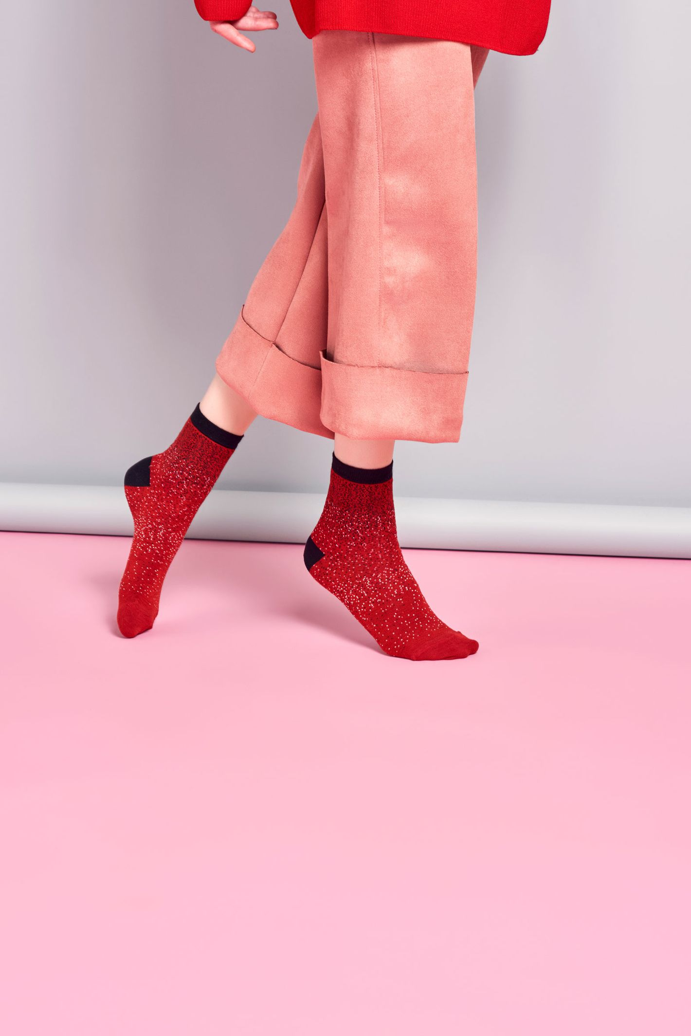 Poppy Ankle Sock