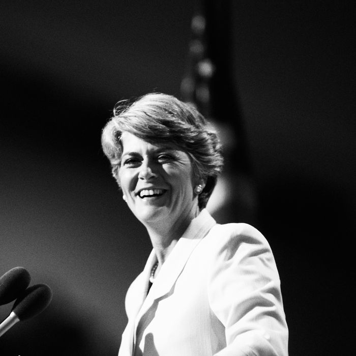 How Geraldine Ferraro Was Treated As a Female VP Candidate