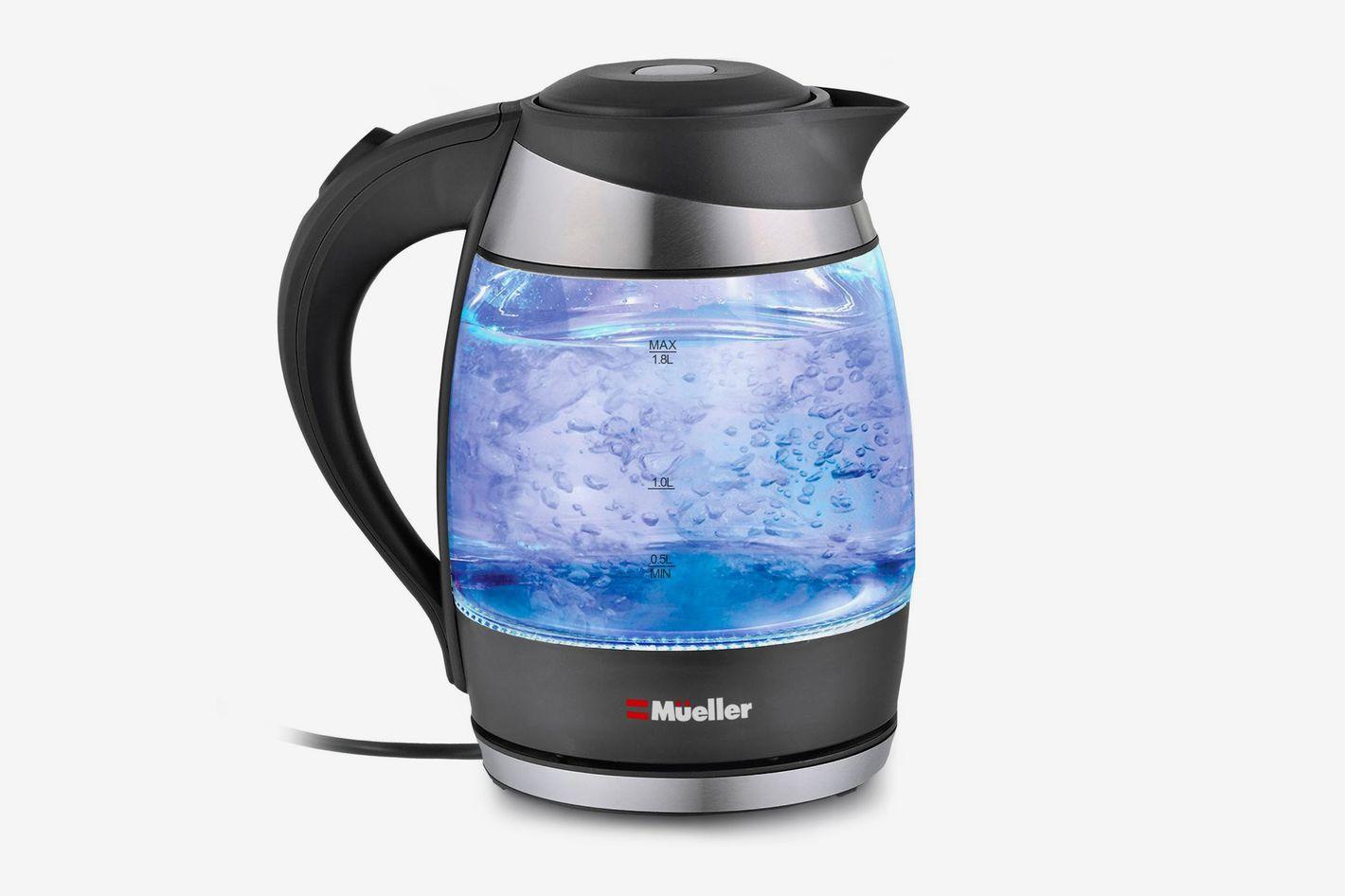 Mueller Austria Glass Electric Kettle Water Heater With SpeedBoil Tech