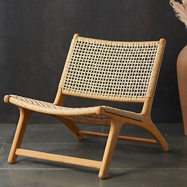 Terrain Havana Open Weave Armless Chair