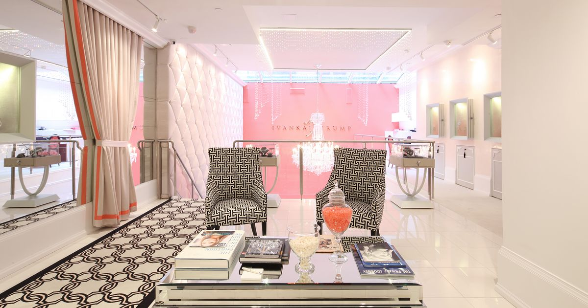 Inside Ivanka Trump's New Diamond-Packed Boutique