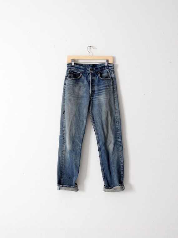 3bd6da5691 We've rounded up six Etsy shops around the globe that offer the best in  vintage and reconstructed jeans and other pieces.