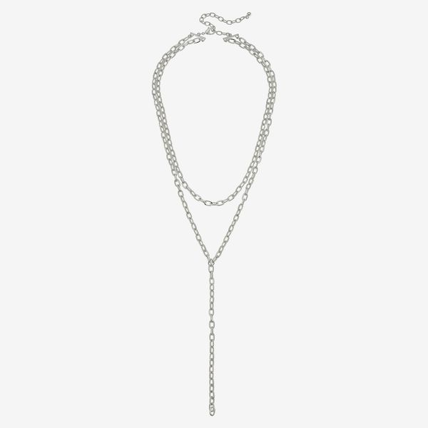 Canvas Jewelry Pilar Layered Chain Y-Necklace