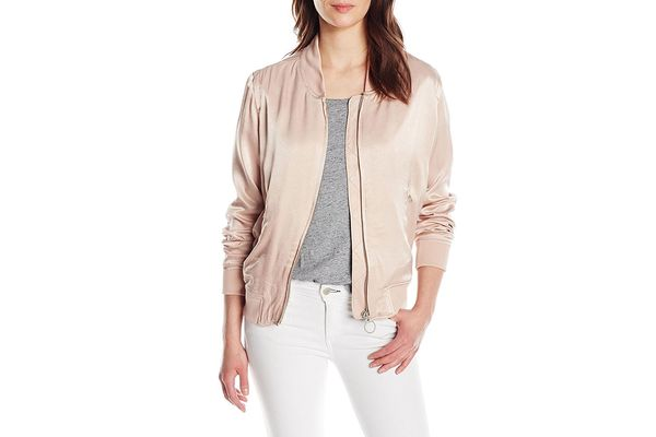 Calvin Klein Jeans Women's Solid Seduction Bomber Jacket