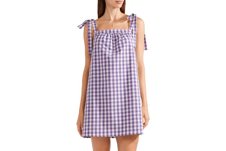 Three J NYC Gingham Nightdress
