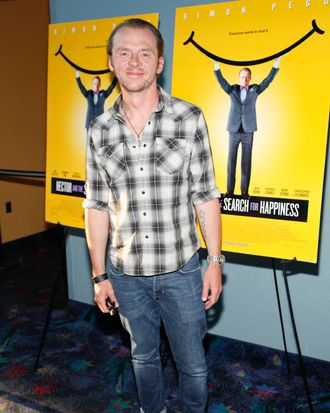 Simon Pegg==Hampton's Screening of HECTOR AND THE SEARCH FOR HAPPINESS ==United Artist Cinema, East Hampton, NY==July 28, 2014==?Patrick McMullan==Photo- ADRIEL REBOH /PatrickMcMullan.com====