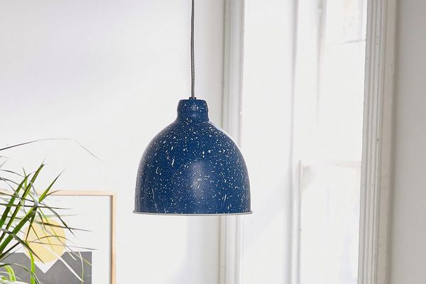 Flecked Pendant Light