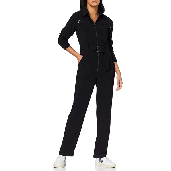 find. Fitted Long Sleeve Jumpsuit