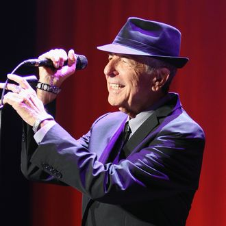 Leonard Cohen Performs At the 02 Dublin