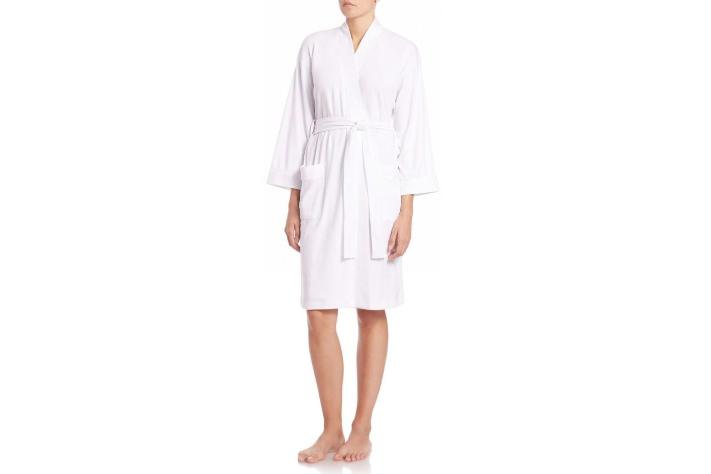 Pima Cotton Jersey Robe