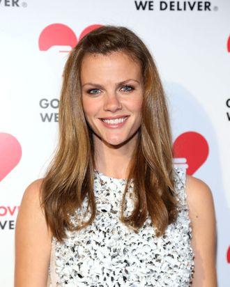 Model Brooklyn Decker attends the Michael Kors- Golden Heart Gala at Cunard Building on October 15, 2012 in New York City.