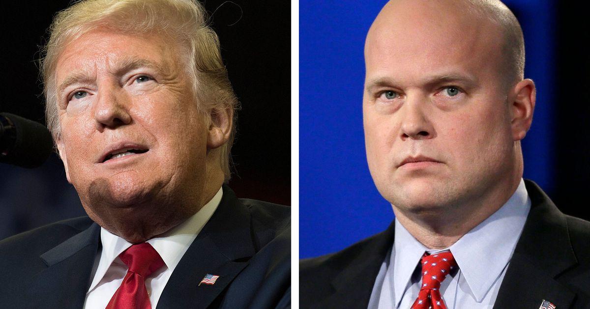 Trump Denies Knowing Attorney General Matt Whitaker, Who He Met a Dozen Times