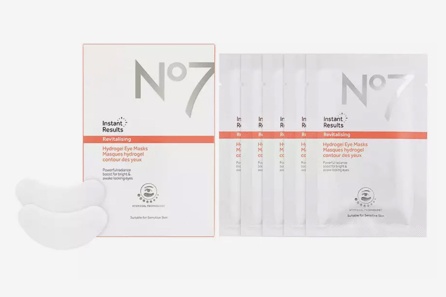 Instant Results Revitalizing Hydrogel Eye Masks
